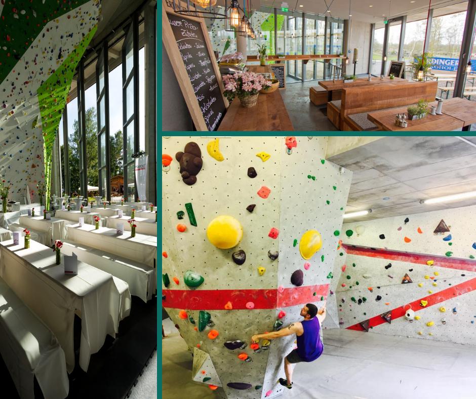 Bouldern und Events in der Nordwandhalle in Hamburg