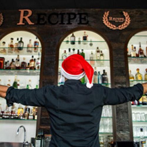 Eure Weihnachtsfeier in der Recipe Bar in Frankfurt
