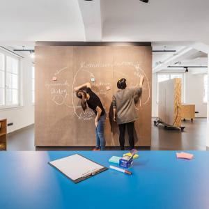 Design Thinking Workshop in der iD-Werkstatt Stuttgart