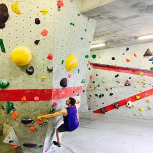 Bouldern in der Nordwandhalle