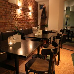 Sitzmöglichkeiten im Restaurant LaSall in Hannover.