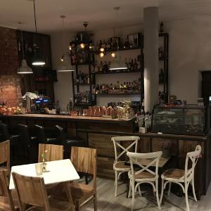 Der Barbereich des Mon Bonheur in Hannover.